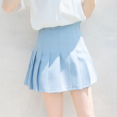 Imagem de blue, skirt, and pastel Blue Aesthetic Pastel, Aesthetic Girl, Aesthetic Outfit, Cheerleaders, Everything Is Blue, Rei Ayanami, Himmelblau, Powerpuff Girls, Magenta