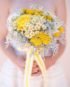 15 bouquet sposa 2015 classici e originali - bouquet sposa bianco e giallo | DonneSulWeb