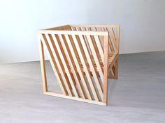Anna Marta fauteuil cube par Per Jensen - Blog Esprit Design