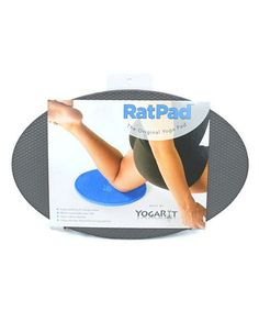 Take a look at this Charcoal Gray RatPad Yoga Pad by YogaRat on #zulily today!