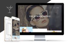 Grey Goose Summer Soirée on Behance Web Design, Grey Goose, Win A Trip, Behance, Summer, Jewellery, Design Web, Summer Time, Jewels