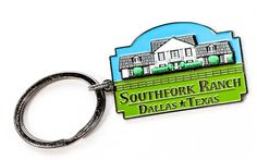 Online Gift Store, Online Gifts, Southfork Ranch, Dallas Texas, Key Rings, Personalized Items, Classic, Collection, Key Holder Job
