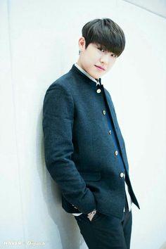 Wanna-One - Park Woojin - Congratulations for graduating high school! Let's Stay Together, Produce 101 Season 2, Ong Seongwoo, Lee Daehwi, My Destiny, Kim Jaehwan, Ha Sungwoon, Graduation Photos, Ji Sung