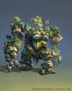 Stone+Golem+v2+by+Eedenartwork.deviantart.com+on+@DeviantArt
