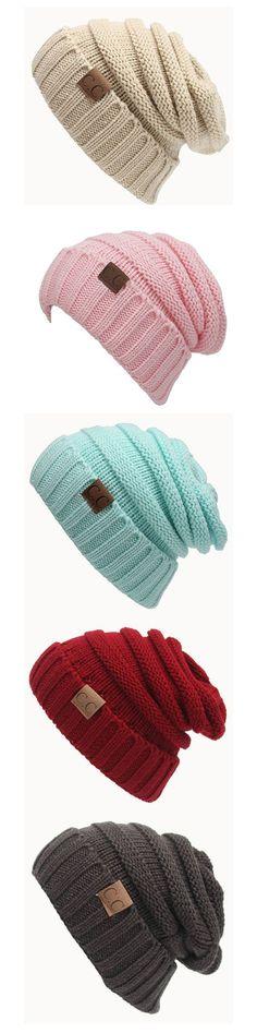6b1f3fbb725 Outdoor Knitting Hats  Women Men Knitting Hats