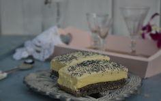 Troll a konyhámban: Mákos vaníliakrémes szelet - paleo