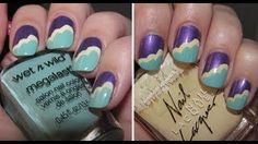 Cloud/ fluffy petal Mani! How to inspiration manicure!, via YouTube.