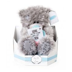 "Me to You 7/"" 40th Birthday Bear In A Box For 40 Year Old Tatty Teddy Plush Bear"