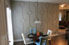 Diamond Wall - I wonder if we could...? Make it temporary so no wall damage?