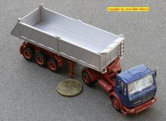 Daimler-Benz L1628S Sattelkipper (Herpa 806511)