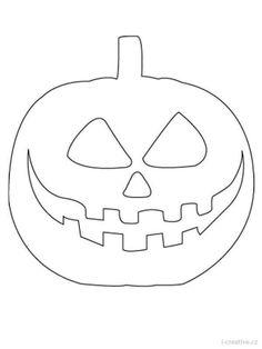 Halloween sablona dyne