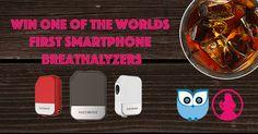 Win An Alcohoot Smartphone Breathalyzer!