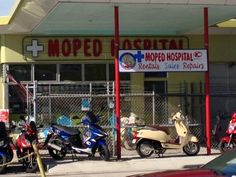Moped hospital #KeyW