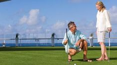 Golfing onboard a cruise ship - Avoya Travel Article: 'Last Minute Spring Break Cruise Deals'