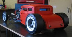 Article: Scale Rat Rod Project - Page 2 Rc Cars And Trucks, Hot Rod Trucks, Semi Trucks, Rat Rod Pickup, Pickup Trucks, Rat Rod Girls, Model Cars Building, Hobby Cars, Plastic Model Cars
