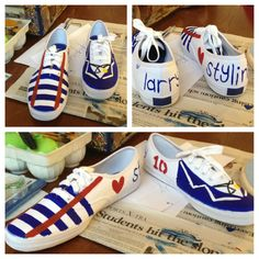 One direction shoes.