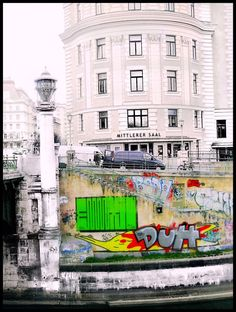 edited photograph by MushroomBrain Danny taken outside Urania close to schwedenplatz by the Donaukanal in Vienna. I think it shows how close fine. where universes exists side by side / Wien Vienna, Universe, Deviantart, Travel, Viajes, Outer Space, Trips, The Universe, Tourism