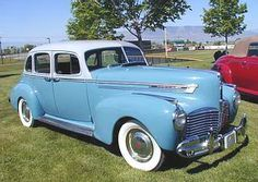 1941 Hudson Commodore | The 1940s Hudsons, like all other American cars, were the same except ...