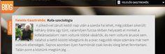 Kofa-szociológia - a blog.hu ajánlásával! #FogjKezetATermelovel #Gasztrohos