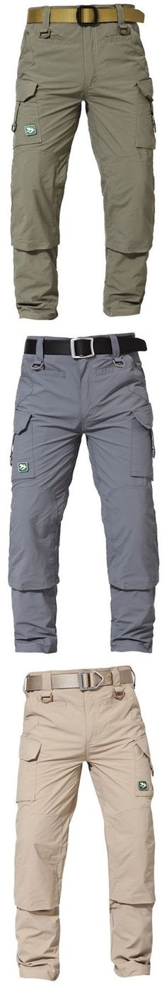 ba062b02f8a1 Mens Outdoor Quick-drying TAD Multi-pocket Tactical Pants Military Pants  keep you out of injury and make you more comfortable when doing sports