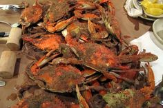 Baltimore - Fells Point: Obrycki's Crab House - Blue Claw Crabs by wallyg, via Flickr