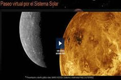 Paseo virtual por el Sistema Solar. Especial del diario El Mundo.