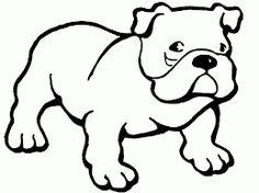 Resultado de imagen para bulldog ingles dibujo