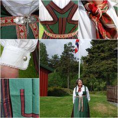 Åmli bunad variation Norway, Scandinavian, Costumes, Traditional, Fashion, Hipster Stuff, Moda, Dress Up Clothes, Fashion Styles