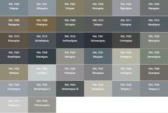 140 besten fassadenfarbe farbkombinationen und inspirationen bilder auf pinterest - Farbtabelle fassadenfarbe ...