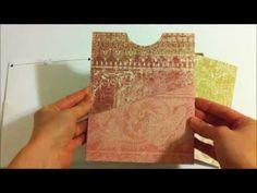 ▶ Folded Pocket Page Mini Album - YouTube