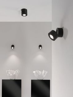 Wall-mounted spotlight / ceiling-mounted / indoor / LED MIND-LED: FAVILLA by Manuel Vivian AXO Light