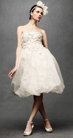 wedding dresses from anthropologie....gorgeous
