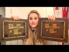 Once Upon A Time, Story Book Tutorial DIY Cosplay