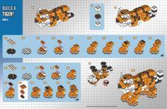 Lego Club build : Tiger