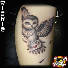 Richie's skills really gave wing to his client's idea!