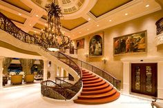 Dream Home Grand Staircase