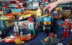 Tin robots collection sold at auction - in pictures