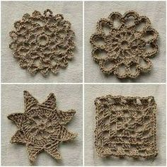 Jute Twine Crochet Coasters - Buy Crochet Coasters at best price of Rs 40 /set from S.l. Enterprises. Also find here related product comparison.