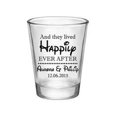 125x Happily Ever After Custom Wedding Shot by MyCustomWedding