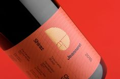Jeanneret Shiraz Label designed by Band. #branding #packaging