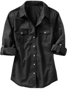 Great cheap button ups that would go well under sweaters or over any fancy under shirt with a long necklace