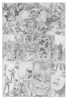 Spider-Man test pages for Marvel  page 3  http://www.danavenell.com/