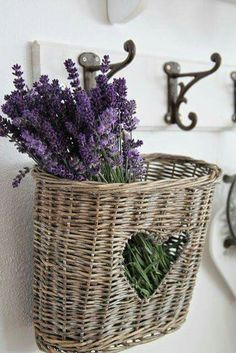 a touch of lavender is always nice