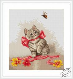 Kitten - Cross Stitch Kits by Luca-S - B2228