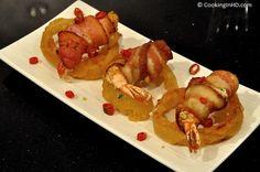 Seafood-Stuffed Shrimp Enbrochette