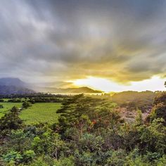 The sunset over Hanalei. @GoPro HDR with @manfrottoimaginemore tripod.
