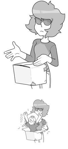 Sick box bro, what's inside? A PERIDOT