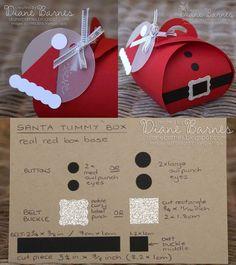 Weihnachtspresent: Weihnachtsmann-Verpackung