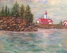 Nature, Painting, Art, The Sea, Art Background, Naturaleza, Painting Art, Kunst, Paintings