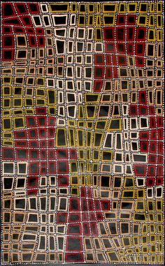 Aboriginal Artwork by Adam Reid Sold through Coolabah Art on eBay. Catalogue ID 08259